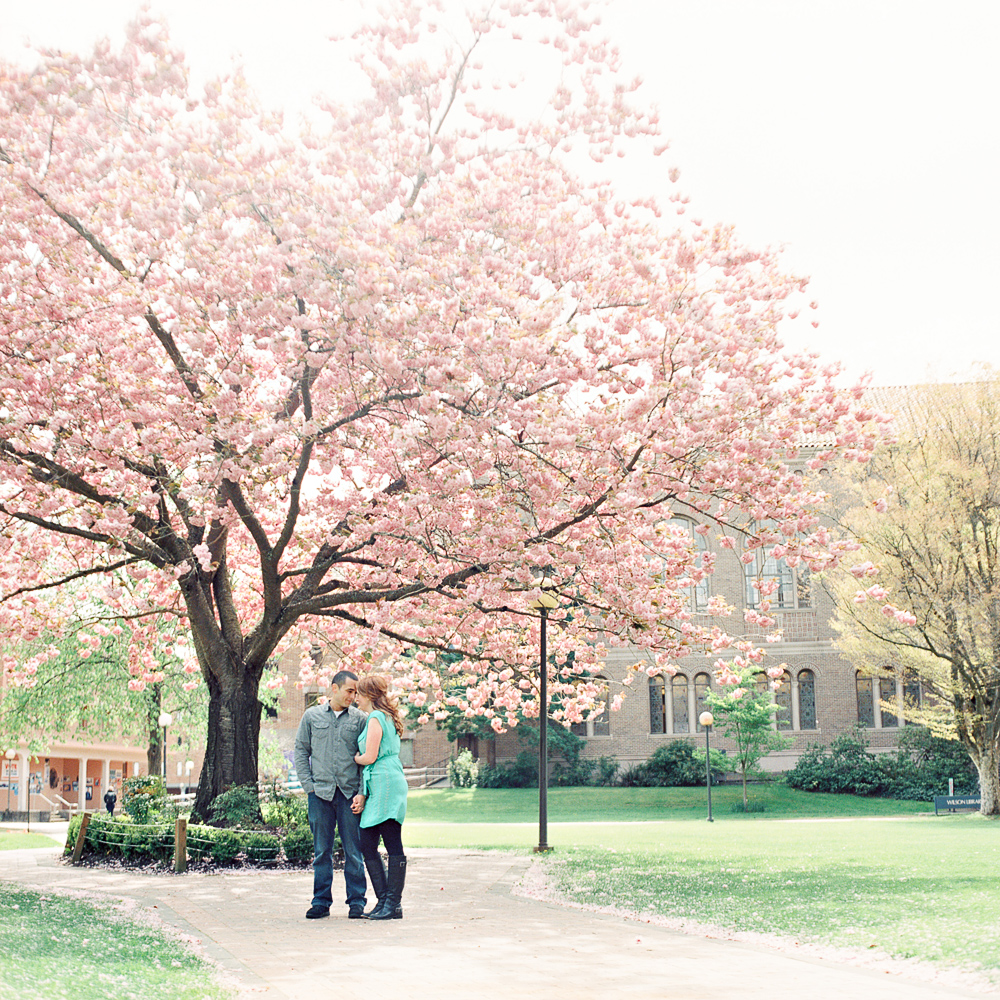Bellingham Engagement Photography on Film by Joe and Patience