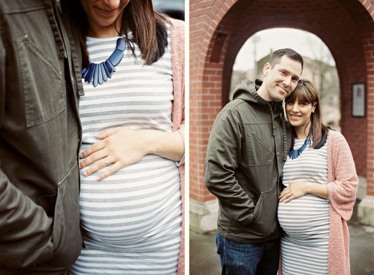 Seattle Maternity Session in Ballard Washington by Bellingham Family Photographer Joe and Patience
