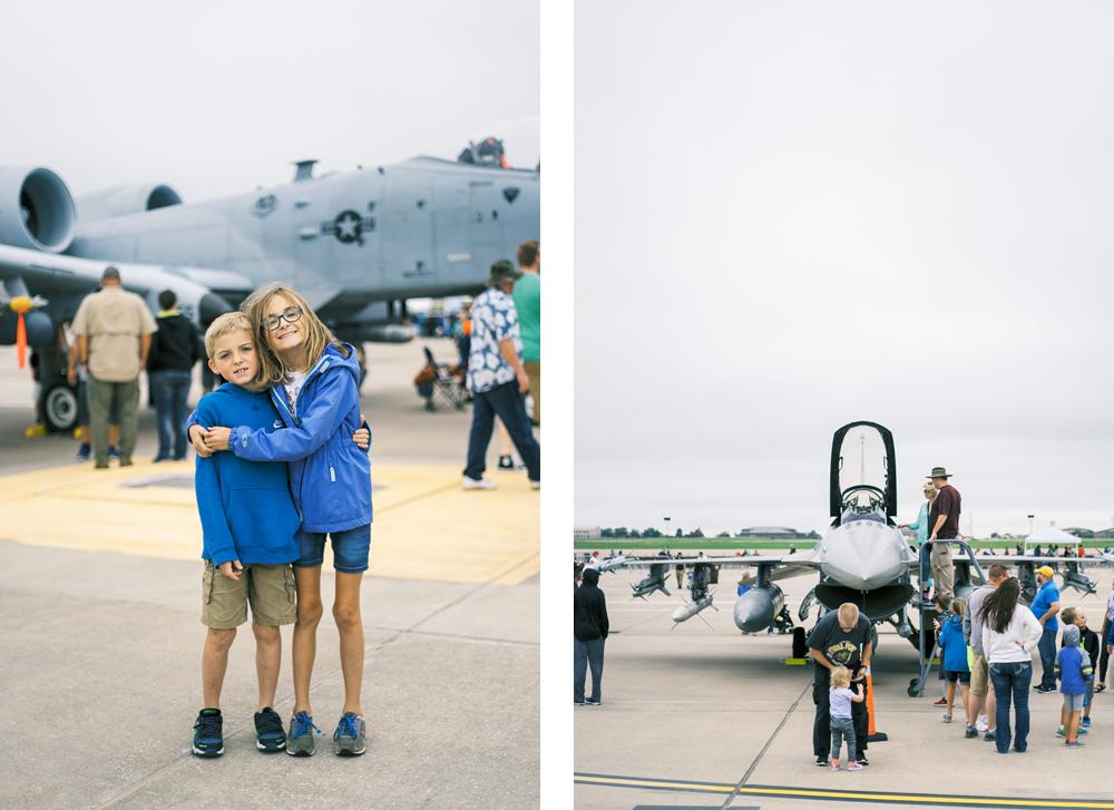 Wichita Air Show F-22