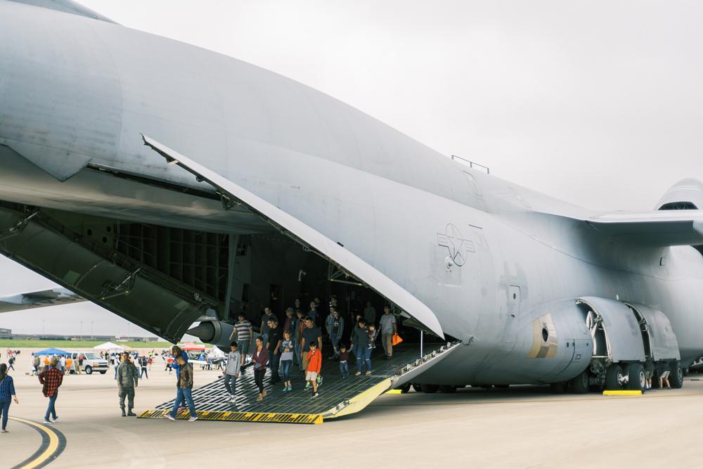 Wichita Air Show C-5 Galaxy