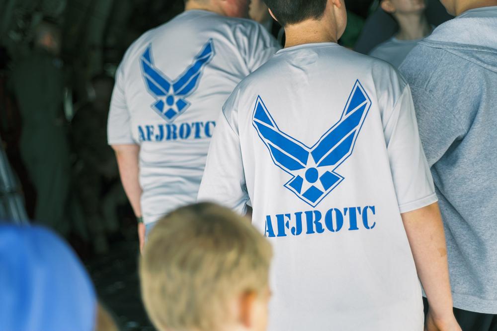 Wichita Air Show AFJROTC